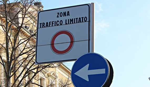"Limited Traffic Zones called ""Zona Traffico Limitato"" or ZTL in Italy and Europe"