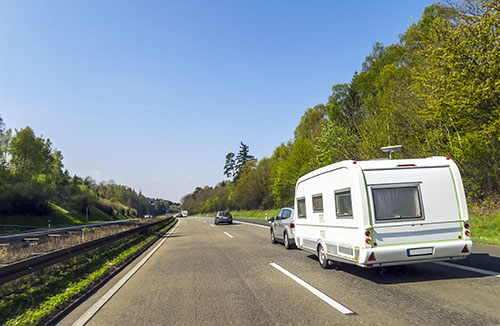 Guide to towing a caravan